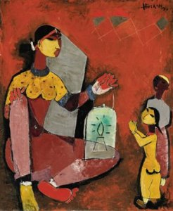 Mf husain's painting