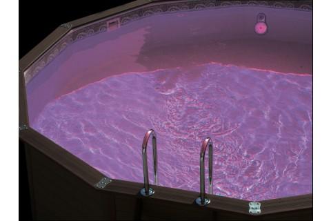 projecteur led pour piscine hors sol montage sous buse