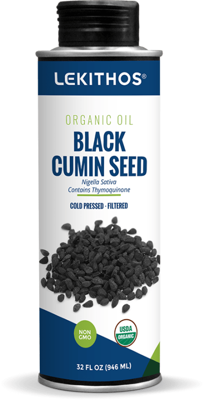 Organic Black Cumin Oil by Lekithos