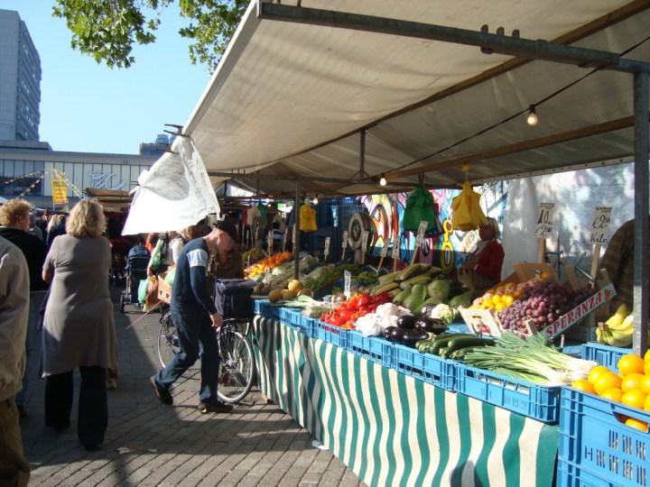 Mercado de Vredenburg en Utrecht