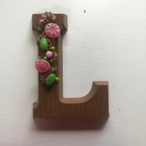 Chocoladeletter L - Letters van Naomi