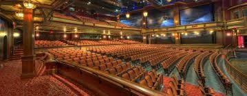 Salle de spectacles vide