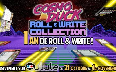 Ulule: 1 an de Roll&Write Diggers
