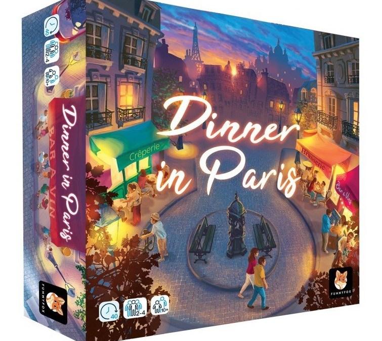 Test: Dinner in Paris