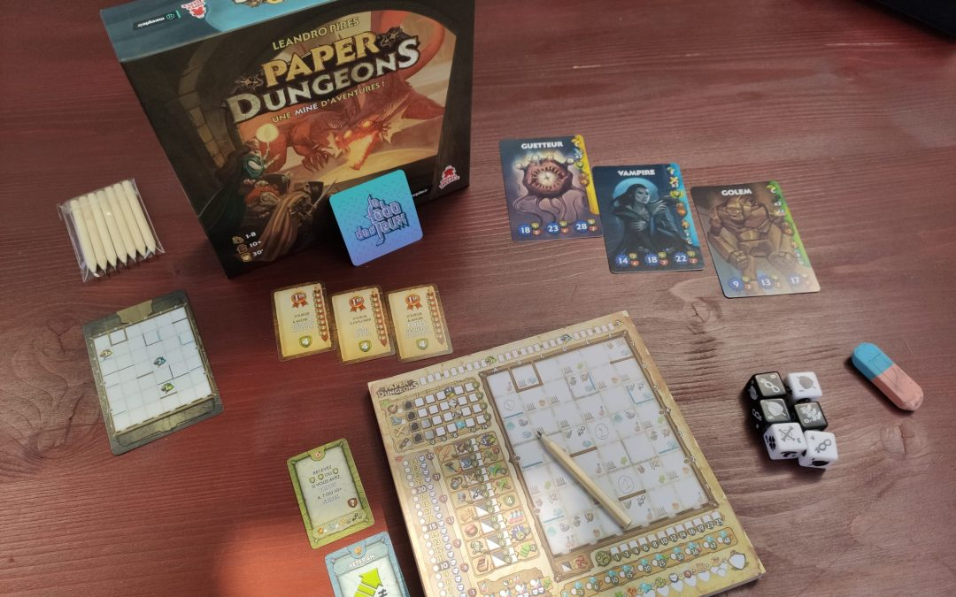 Test: Paper Dungeons