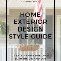 finding a home's exterior style