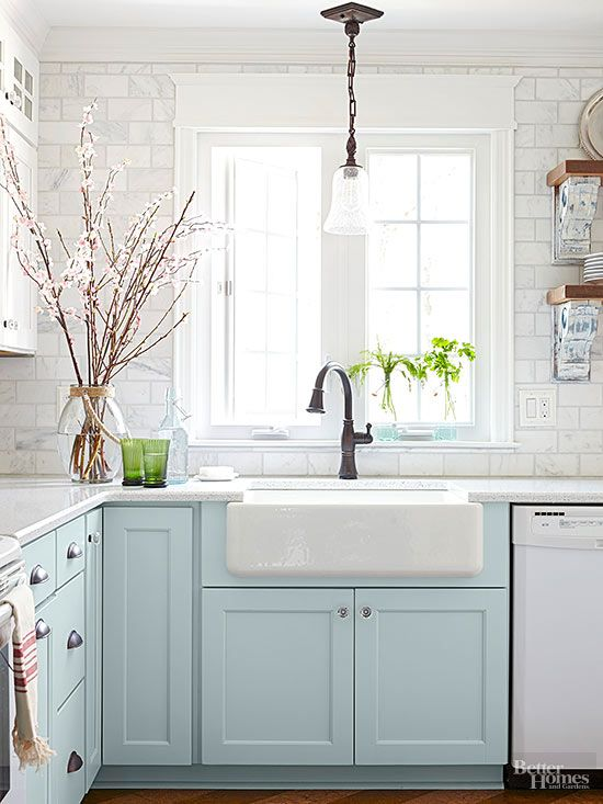 Six Colors To Paint Your Kitchen Cabinets (Other Than White ...
