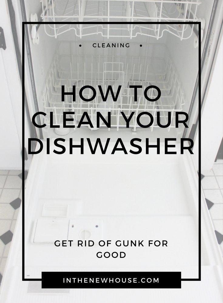 dishwasher cleaning guide