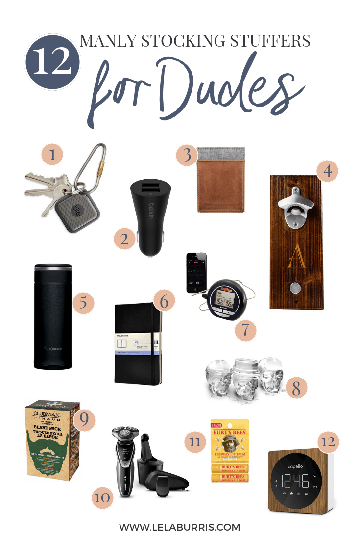 12 Manly Stocking Stuffers For Dudes