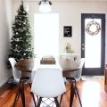 simple christmas dining room decor