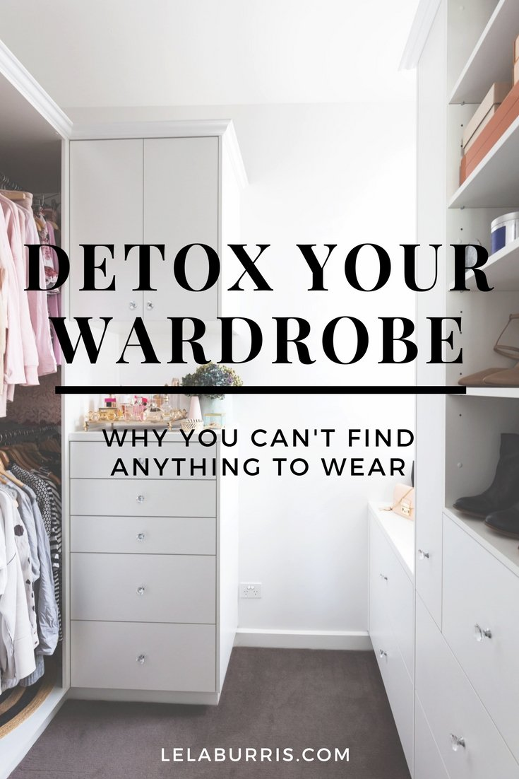 Why You Can't Find Anything To Wear In Your Closet
