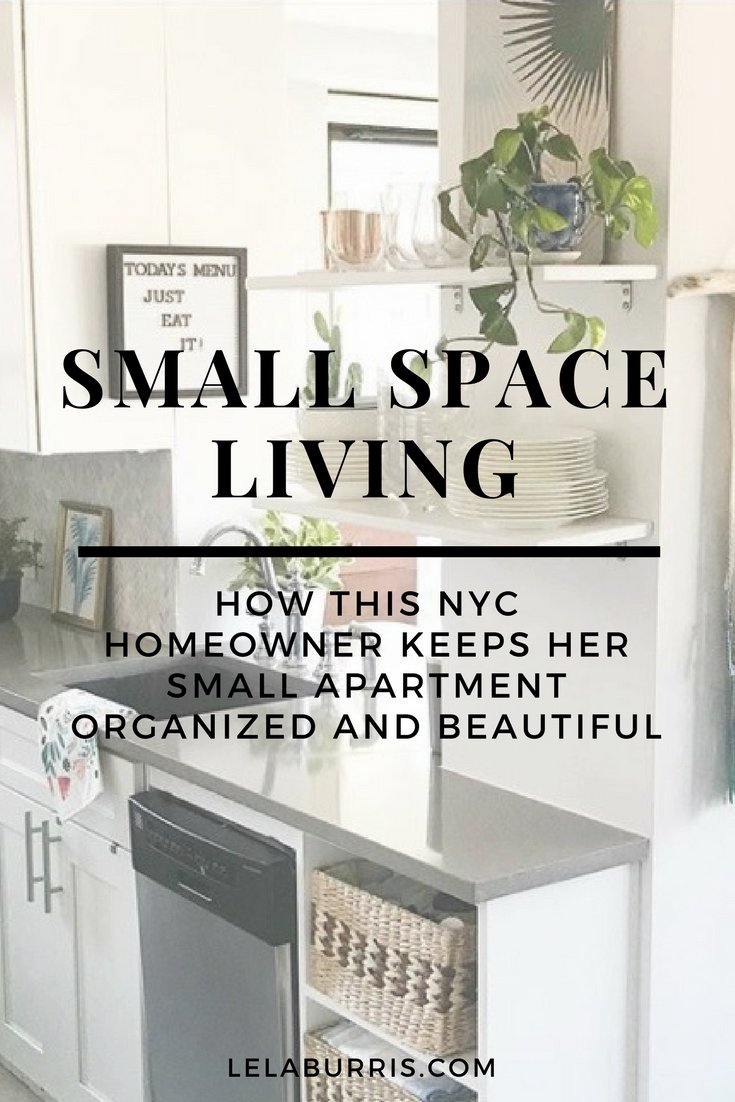 How This NYC Apartment Owner Keeps Her Home Tidy - Lela Burris