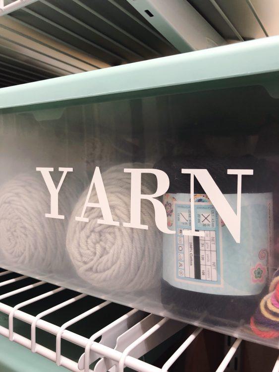 Organizing My Craft Closet With Cricut - Lela Burris