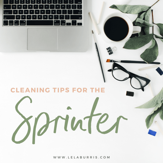 spring cleaning tips from Lela Burris