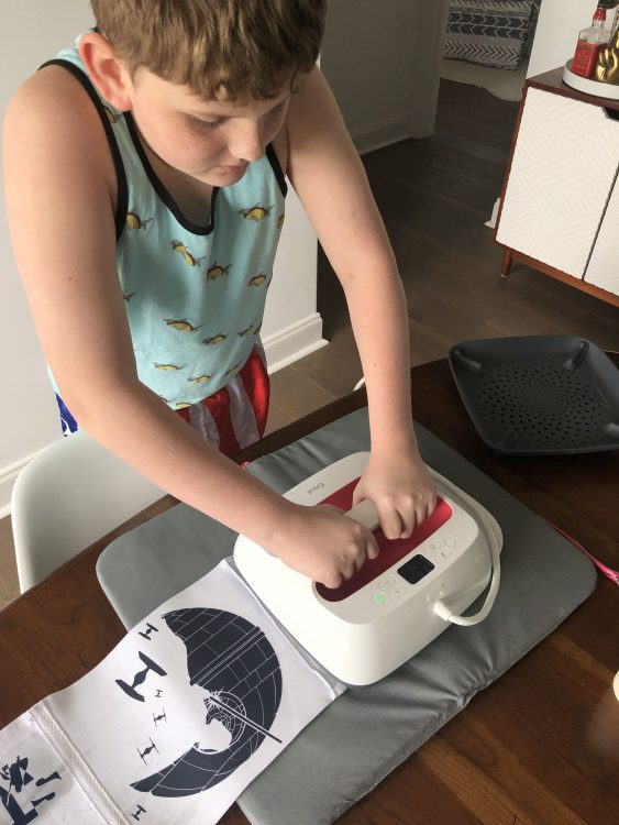 cricut maker and easy press beginner projects for kids