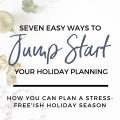 start holiday planning