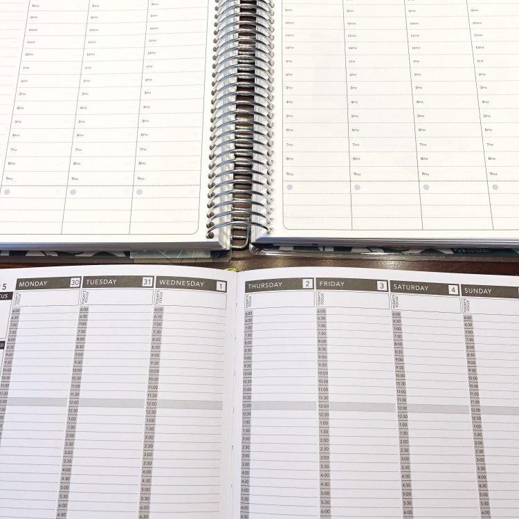 coil vs sewn binding for planner