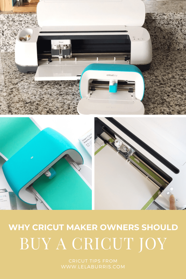 why you need a Cricut Joy if you already have a cricut maker