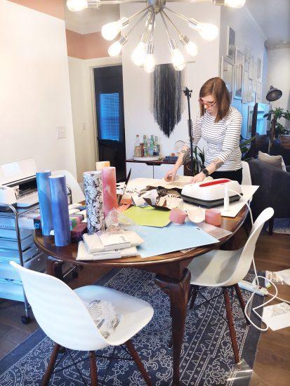 Lela Burris Cricut Infusible Ink Tote Bag Project