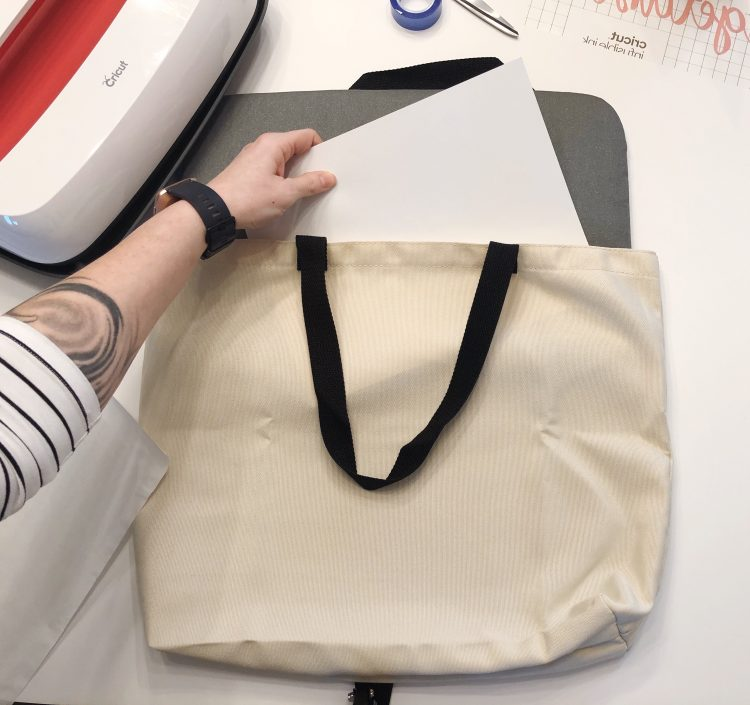 Lela Burris cricut tote bag tutorial