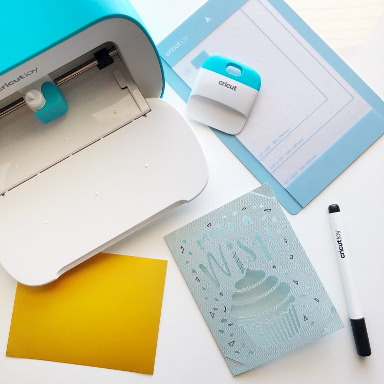 Cricut Joy card kit tutorial
