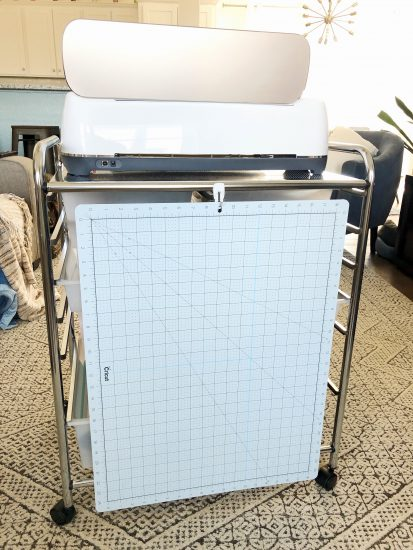 cricut storage cart and mat storage