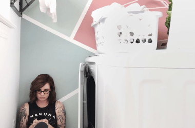 Lela Burris laundry room