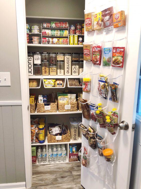 pantry organization tips from Lela Burris, pro organizer