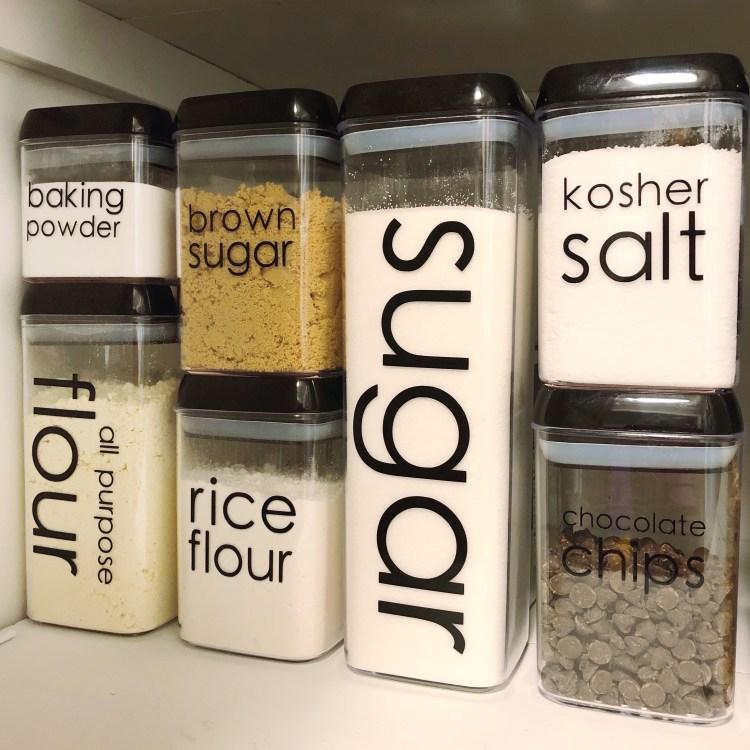 pantry label font for Cricut