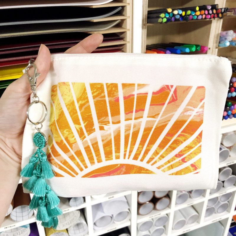 cricut cosmetic bag for Infusible Ink