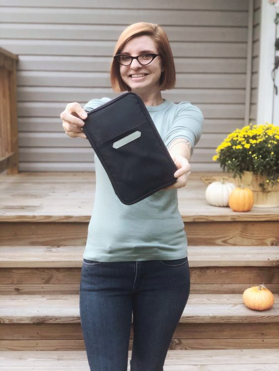 Lela Burris wallet organization tips