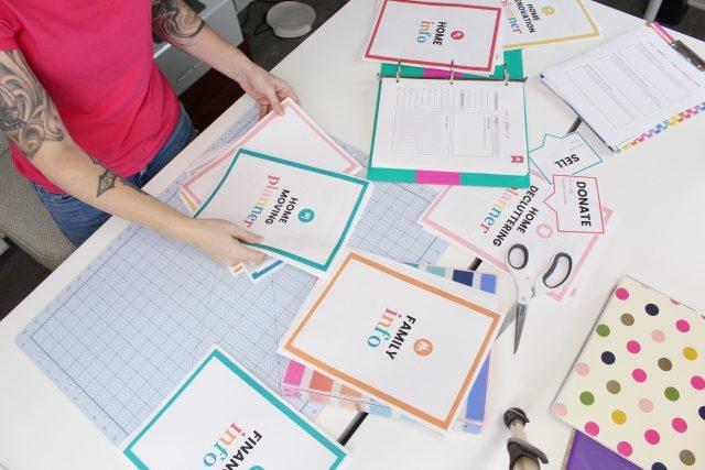 organized-ish binder kits by Lela Burris