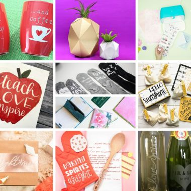 10 last-minute cricut gifts