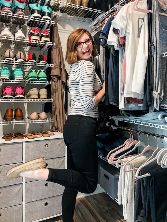 Lela Burris closet purging tips