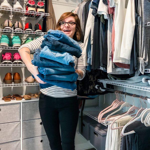 closet purging tips from Lela Burris of Organized-ish