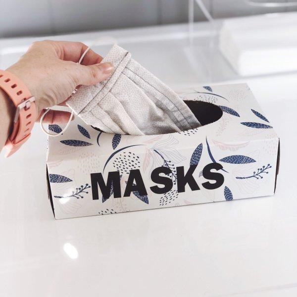 diy dirty face mask hamper