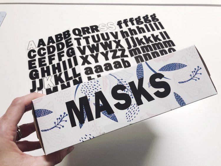 diy face mask hamper