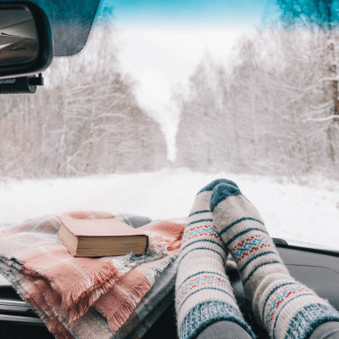 winter vehicle organization for moms