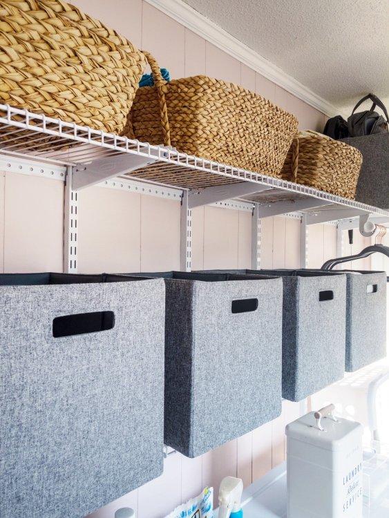 laundry room storage by Lela Burris