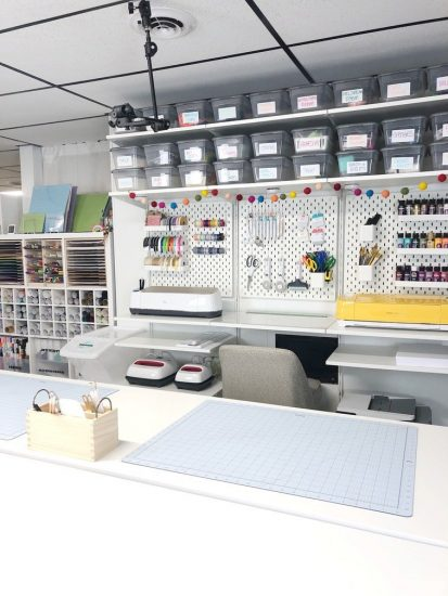 craft room layout idea Lela Burris