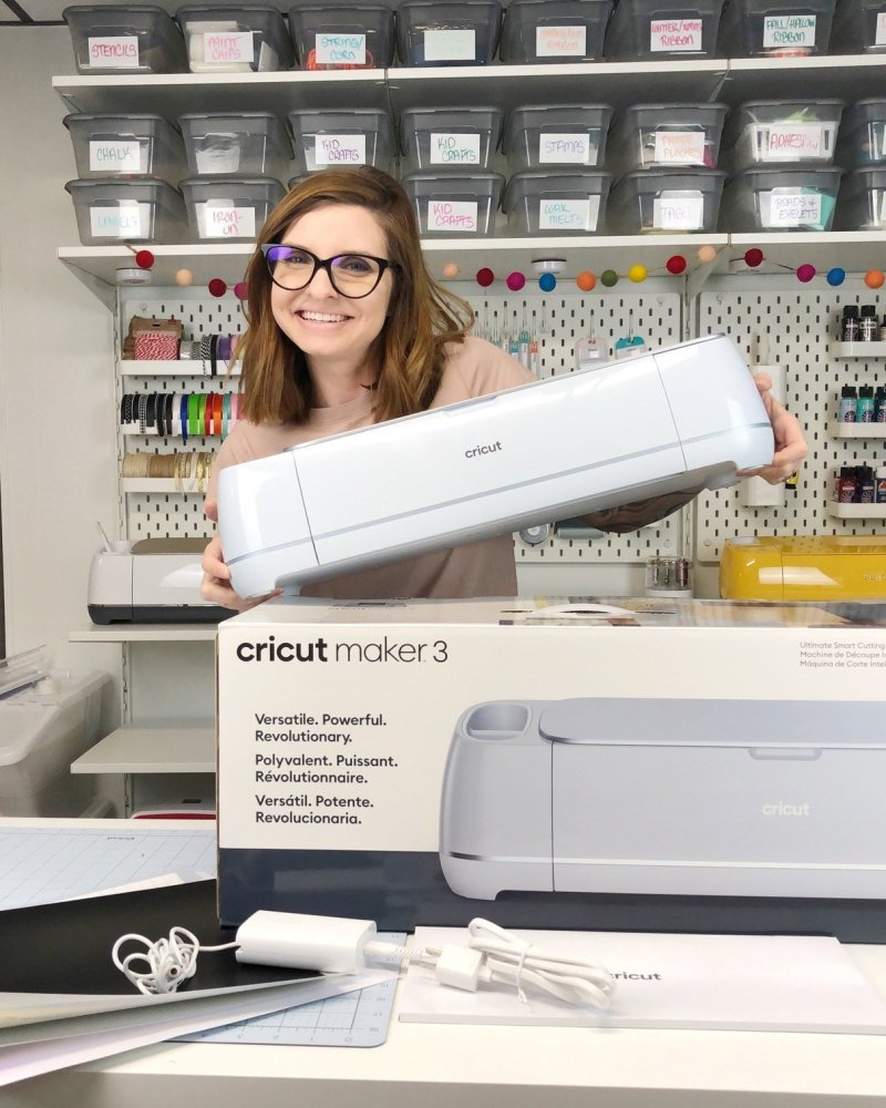 how to open and set up Cricut Maker 3
