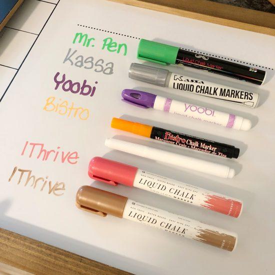 1Thrive chalk marker test