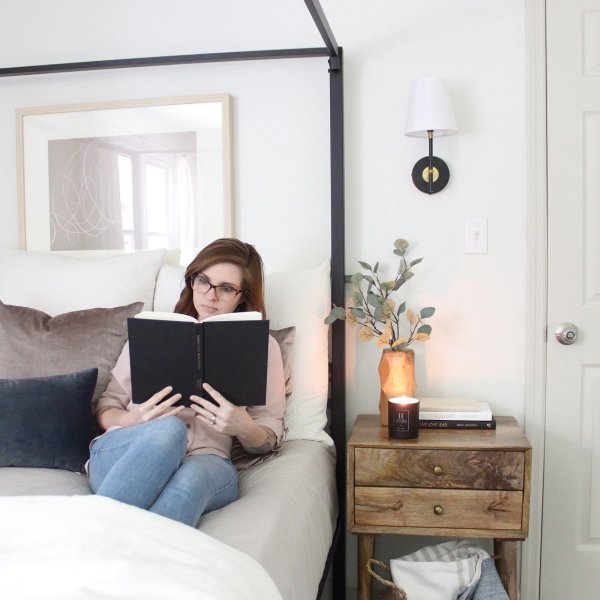 Lela Burris bedroom organization