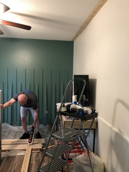 cover popcorn ceiling with cedar wood