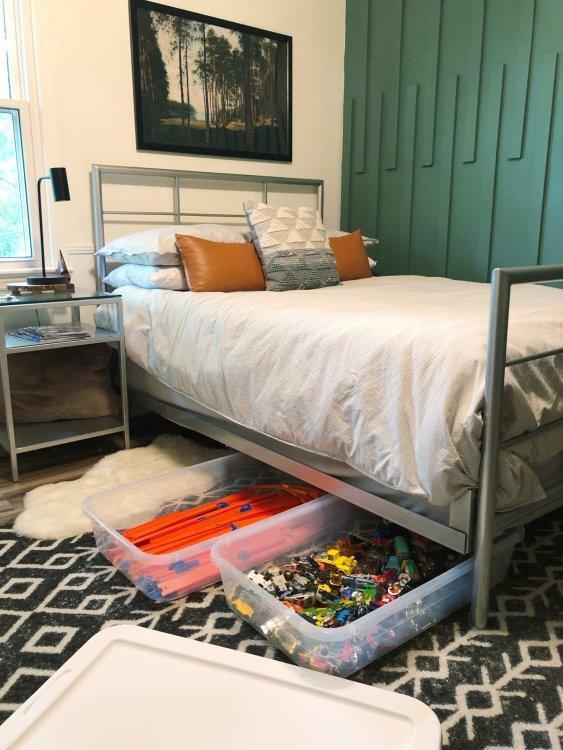 hot wheels track storage for kids room