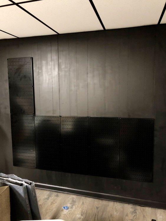 wall control pegboard installation