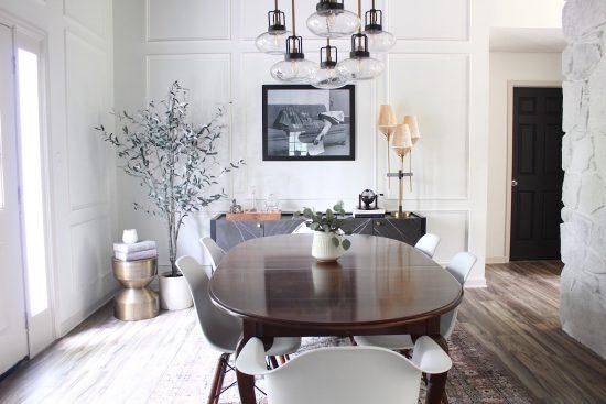 vintage modern dining room ideas