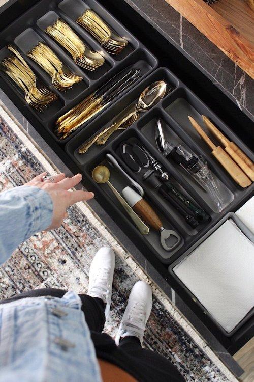 sideboard drawer storage