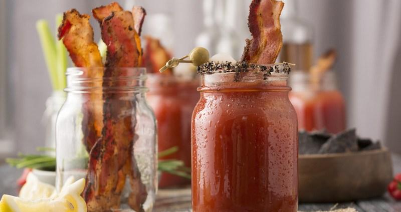 Bacon  Bloody Mary Bar   Leland Lodge   Fishtown MI