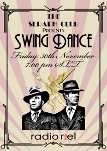 Radio Riel Swing Dance at The Seraph Club